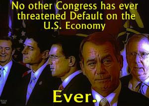 GOP trashed economy