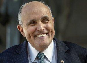 Rudy goofy smile