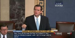 Cruz Filibuster idiot