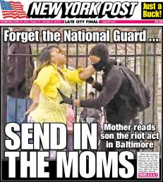 Mom front page