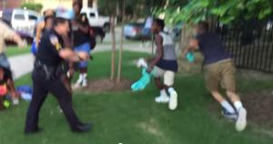 Cop pulled gun