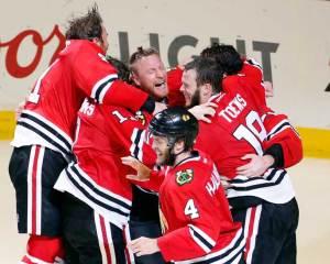 Hawks hug
