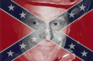 Ted Nugent Confederate flag