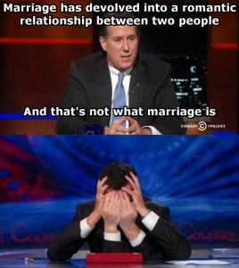 ricksantorumongaymarriage