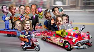 GOPClownCar-PresidentialCampaign2016-Attrib-Flickr-DonkeyHotey-18053097218-640x360