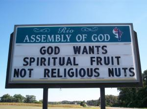 Great religion sign