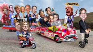 Republican Clown Car morons