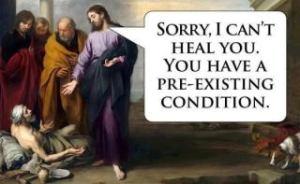 JesusPre-existingcondition