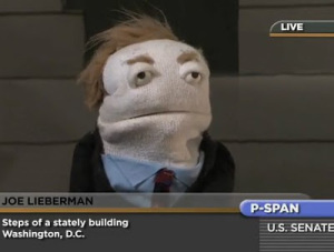 Funny puppet