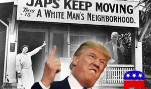 Trump racism on display