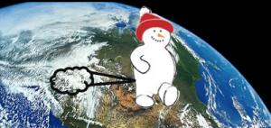 snowman-farting