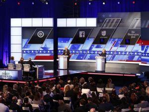 Berine & Hillary debating