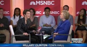 Rachel-Maddow with Clinton