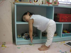 Tired kid so funny