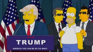 Trump Simpsons funny