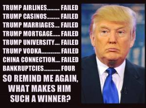 Trump failures are a lot