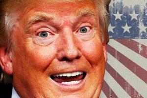Trump fuuny head laugh