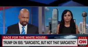 Trump idiot liar spokes thing