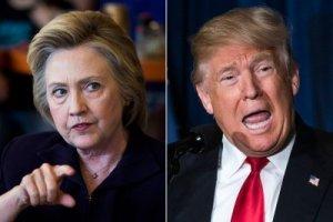 hillary-clinton pointing vs donald-trump