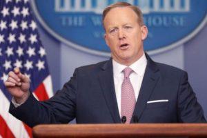 POTUS Spicer idiot PR lies