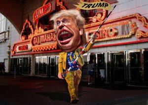 Donald-Trump-circus-act-donkeyhotey