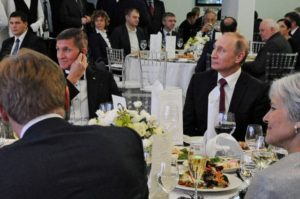 Flynn sitting with Putin busted